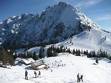 Skiregion Dachstein West, Sonnenalm mit Donnerkogl